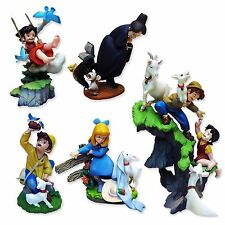 Girl of the Alps Heidi Part 2 K&M Kaiyodo Horico Mini Figures Complete set of 6