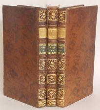 1747 Histoire Des Voyages que les Danois ont Fait Dans les Indes Orientales 3vol