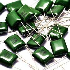 10PCS New 2A104J 100V 0.1UF 100NF Polyester capacitors