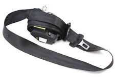 Center Rear Back Seat Belt Seatbelt 98-04 Audi A6 C5 - Black - 4B9 857 807