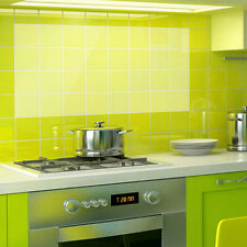 Transparent Kitchen Tile Wall Paper Oil Proof Self-adhensive Sticker Kitchen  LE