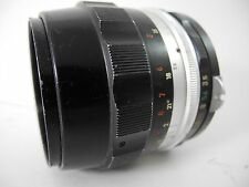 NIKON NIPPON KOGAKU 55/3.5 MICRO NIKKOR LENS GREAT USABLE LENS SMOOTH FOCUS