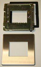 MK Aspect K24172 BSS - 1g 2 Module Face Plate for LJU6C (50 x 37mm) Modules NIB