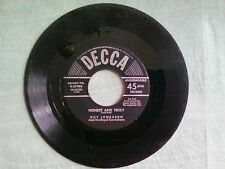 Guy Lombardo HONEST AND TRULY / ONE LITTLE WORD - 45 RPM record