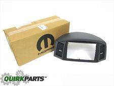 2007 Jeep Grand Cherokee Slate Grey Navigation Radio Bezel MOPAR GENUINE OEM NEW