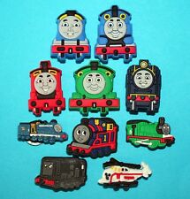 Thomas the Tank Engine Shoe Charms Cake Decorations Party Favours BOYS GIFT NEW