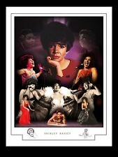 SHIRLEY BASSEY MONTAGE PRINT