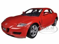 MAZDA RX-8 RED 1/24 DIECAST MODEL BY MOTORMAX 73323