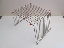 METAL WIRE RACK FRAME TRAY PUZZLE DISPLAY RACK HOLDS 12 PUZZLES HOME & SCHOOL