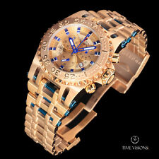 Imperious Men's 50mm Chaos Swiss Made Quartz Chronograph Bracelet Watch IMP1062