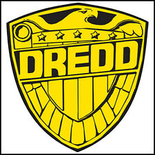 Fridge Fun Refrigerator Magnet JUDGE DREDD BADGE Version A DIE-CUT