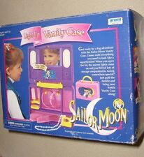 RARE IRWIN SAILOR MOON CHILDS LIGHT UP VANITY PLAYSET PURSE 100% COMP WITH BOX