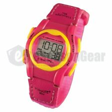 VibraLITE MINI 12 Alarm Vibrating Small Watch for Kids/Children, Pink VM-VPN #25