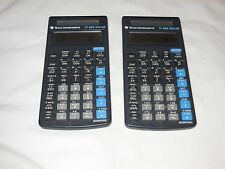 2 Texas Instruments TI-36X Solar Vintage Scientific Calculators