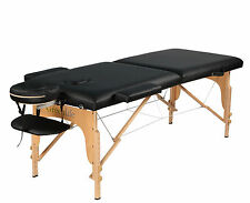 Super Stable Portable 2 Fold Massage Reiki Facial Table Bed Free Carrying Bag