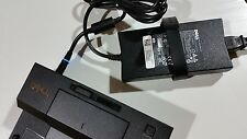 Genuine Dell Docking Station/E-Port Replicator Dock Station PR03X+PA4E Adapter