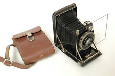 KW PATENT ETUI 6.5X9CM FLAT BED CAMERA W/ ZEISS TESSAR 10.5CM f/4.5 LENS