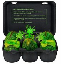 NECA ALIENS GLOW IN THE DARK 6 PIECE ALIEN EGG SET w/FACE HUGGERS IN CARTON