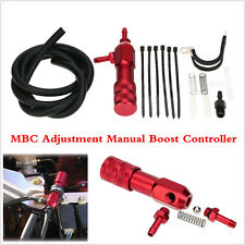 Universal Red Aluminium Alloy MBC Adjustment Manual Turbo Boost Controller Kit