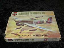 AIRFIX 1/72 Model Aircraft Kit HAWKER TYPHOON Unmade in Type 5 Box 1970s