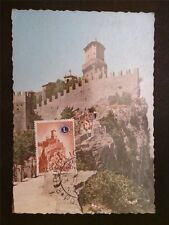 SAN MARINO MK 1960 LIONS CLUB MAXIMUMKARTE CARTE MAXIMUM CARD MC CM c7911