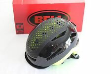 New Bell Hub Adult Bike Helmet Cycling Urban Commute Large Black Yellow Retina