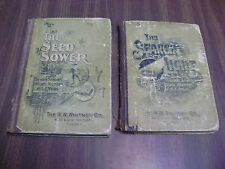 The Seed Sower (1897) & The Search Light (1894) Sunday Schools & Gospel meetings