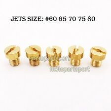#60 65 70 75 80 Carb Jets For Racing Carburetor 50cc 60cc 80cc Motorized Bicycle