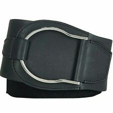 Polo Ralph Lauren Belt Large Black Stretch Equestrian Belt - B2G1Free