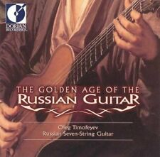 Golden Age Of The Russian Guitar New CD