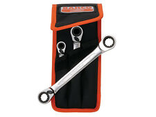 Bahco BAHS4RM3T Reversible Ratchet Spanners Set 3 Piece 8 - 19mm