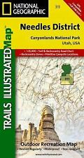 National Geographic Trails Illustrated: Needles District: Canyonlands 311