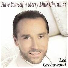 Sealed New Have Yourself a Merry Little Christmas-Lee Greenwood CD, Free Falls