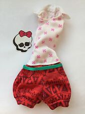 Monster High Dolls Clothes playsuit Clawdia Wolf Family Nefera/Bloodgood