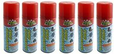 6x Waterproof Spray for Clothes Fabric Leather Shoes Tents Camping Fishing 200ml