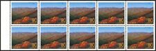 Japan Z352a mnh pane 1999 Shirakami Mountains (Aomori)  - UNESCO World Heritage