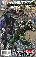 JUSTICE LEAGUE OF AMERICA NUMBER 3 JUNE 2013 JLA FOLD-OUT COVER