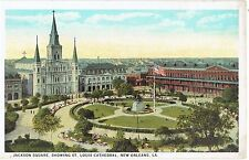 New Orleans,La, Jackson Square, St Louis Cathedral, advertising