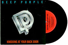 "DEEP PURPLE - KNOCKING AT YOUR BACK DOOR - RARE 7"" 45 VINYL RECORD PIC SLV 1984"