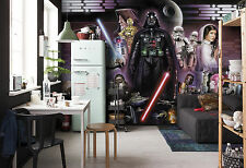 Star Wars Papier Peint photo Mural pour chambre d'enfant 368x254cm Darth Vader