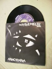 "STEVE MILLER BAND - ABRACADABRA - 7"" VINYL PROMO EXCELLENT CONDITION 1982 ITALY"