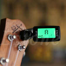 Digital Chromatic LCD Electric Guitar Clip On Tuner Acoustic Bass Violin Ukulele