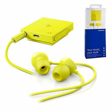 Genuine Nokia Lumia Stereo Bluetooth Headset Noise Blocking Wireless Handsfree
