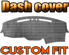 Fits 2005-2008 JEEP GRAND CHEROKEE DASH COVER MAT DASHBOARD PAD / CHARCOAL GREY