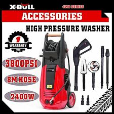 X-BULL High Pressure Water Cleaner 3800 PSI Washer Electric Gurney Pump Hose