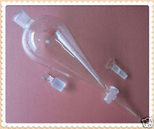 New Laboratory Glass separatory separation funnel 250ml