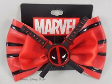 Marvel The Avengers Deadpool Katana Sword Cosplay Hair Bow Pin Clip Costume