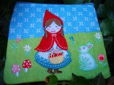 Little Red Riding Hood borsa Ragazze Portamonete Ricamato Fiori Coniglio Bird