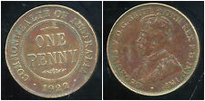 AUSTRALIE 1 one  penny  1922