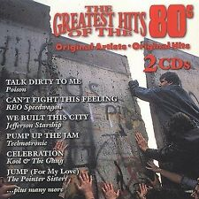 Unknown Artist The Greatest Hits of the 80s CD